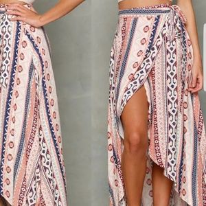 Dresses & Skirts - Vintage maxi skirt one size fit s/m